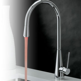 Lit Faucet from Newform – new Y-Con kitchen faucet