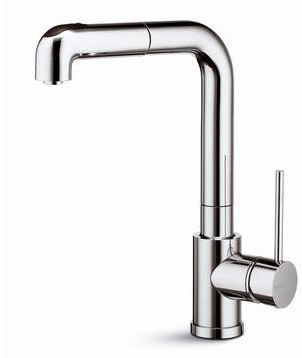 X Art Kitchen Faucet From Newform A Pull Out Sprayer
