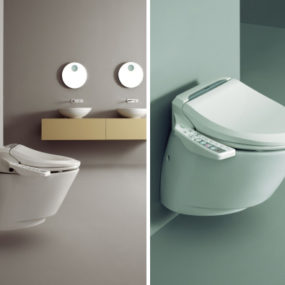 Hi-Tech Toilet by New Linea – new modern Aqualet
