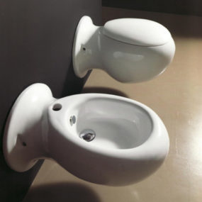 Unusual Toilet and Bidet – 'Made' compact by NIC Design
