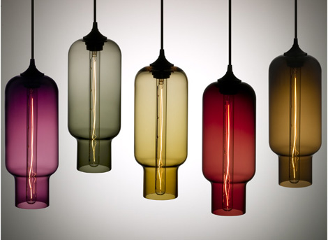 nichemodern lamp pharos 1 Contemporary Lamp collection from Nichemodern   Blown Glass Pendants as Original as You Are!