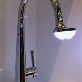 Kitchen Faucet by Nobili Spa – 'Sun' Lamp Faucet