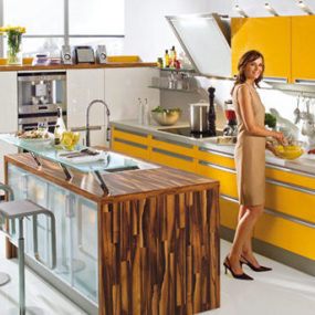 Modern European kitchen from Nolte Kitchens – the Spot design
