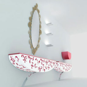 Decorated Bathroom Furniture by Nova Linea – Kos bathroom expressions