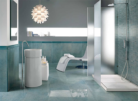 Novabell Ceramic Tiles Shine Bathroom