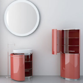 Bath furniture from Novello – contemporary bath vanities