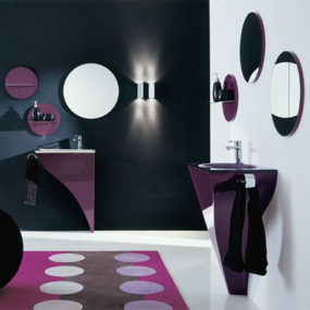 Colorful, Curvy Vanity Designs from Novello to Cheer You Up!