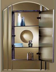 nu tone medicine cabinet le baccarat NuTone Le Baccarat   new Mirror Medicine Cabinet from Inspirations Collection