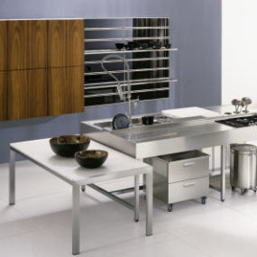 Stainless Steel Kitchens from NYLOFT – New XERA Kitchen Line