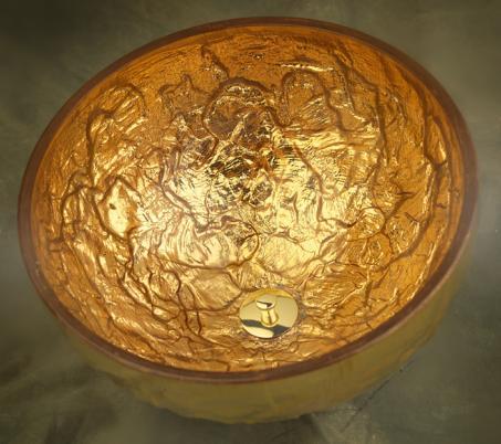 oceana gold vessel Oceana Glass Sinks   A Timeless Trend