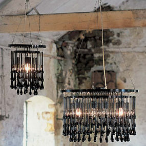 Contemporary Chandeliers by Ochre – glamour Light Drizzle Chandelier