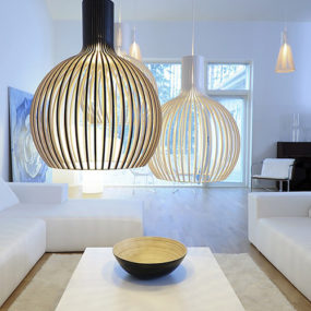 Scandinavian Pendant Lights – Octo Pendants by Secto Design