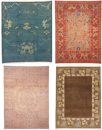 Tibetan Rugs – the Abu rugs collection from Stephanie Odegard