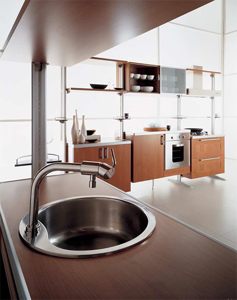 oikossistematicakitch Custom Kitchen from Oikos   Sistematica modular kitchen