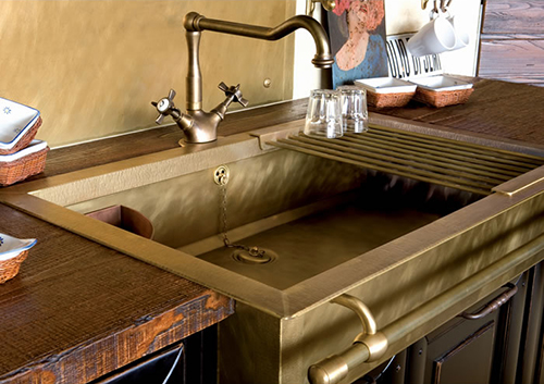old style brass sinks by restart 1
