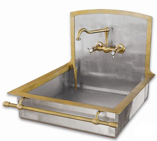 Old Style Brass Sinks By Restart