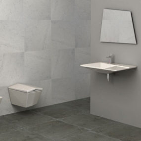 Ultra-Modern Bathroom from Olympia – Crystal shines with individual style