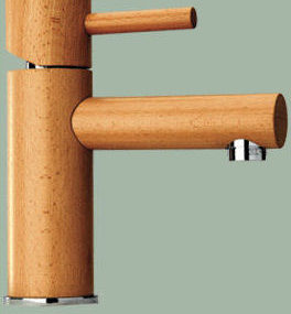 Wood Faucets from Omax – eco-friendly faucets
