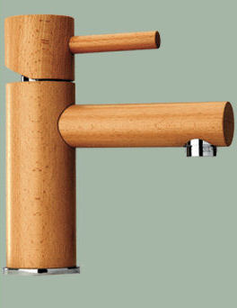 omax wood sherwood wood faucets Wood Faucets from Omax   eco friendly faucets