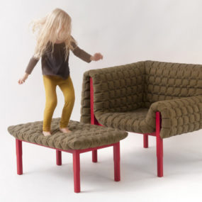 Armchair Ruche by Ligne Roset Completes Collection
