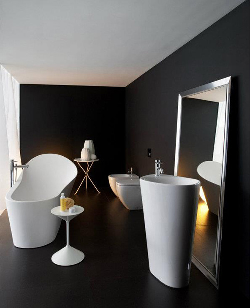 organic bathroom collection palomba laufen 1 Organic Bathroom Fixtures by Laufen   Palomba
