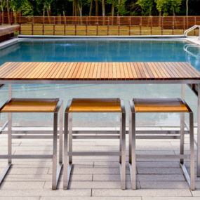 Outdoor Bar Furniture by Edwin Blue – modern contemporary