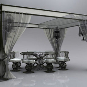 Glamorous Outdoor Furniture by Dolcefarniente