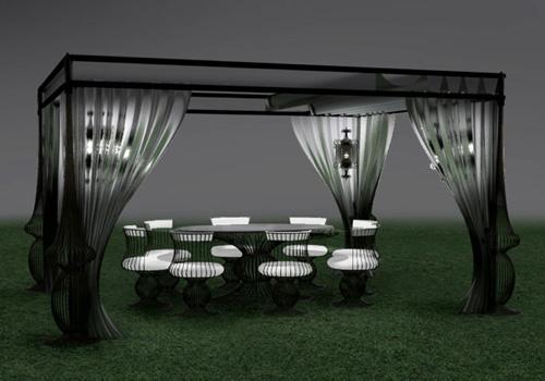outdoor furniture siderale dolcefarniente 2 Glamorous Outdoor Furniture by Dolcefarniente