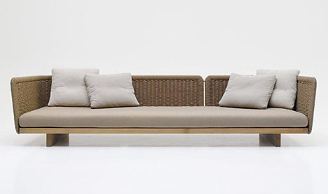 outdoor sectional sofa sabi paola lenti 3 Outdoor Sectional Sofa   Sabi by Paola Lenti