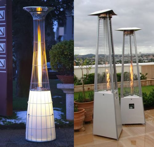 outdoor space gas heaters alpina remote 7 Outdoor Space Gas Heaters by Alpina   Remote Controlled, with Light