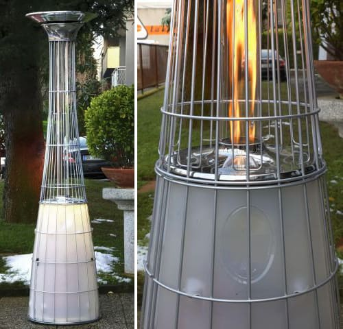 outdoor space gas heaters alpina remote 8 Outdoor Space Gas Heaters by Alpina   Remote Controlled, with Light