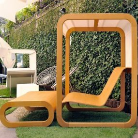 Modern Outdoor Furniture at OUTentico Exhibition in Milan