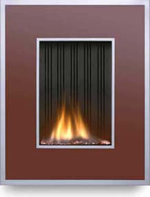 Esse Firewall Flueless gas fireplace by Ouzledale – a contemporary fireplace
