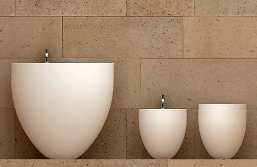 oval bathroom suites ceramica cielo le giare 1 Oval Bathroom Suites by Ceramica Cielo   Le Giare