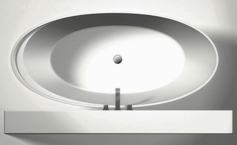 oval tub simas bohemien top view Oval Tub from Simas   new Bohemien
