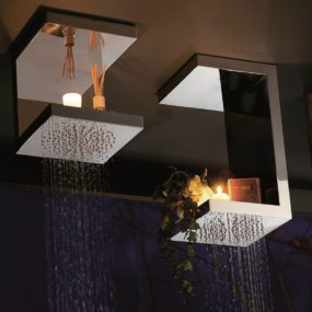 Overhead Shower Head Shelves – Bougies from Ritmonio by Peter Jamieson