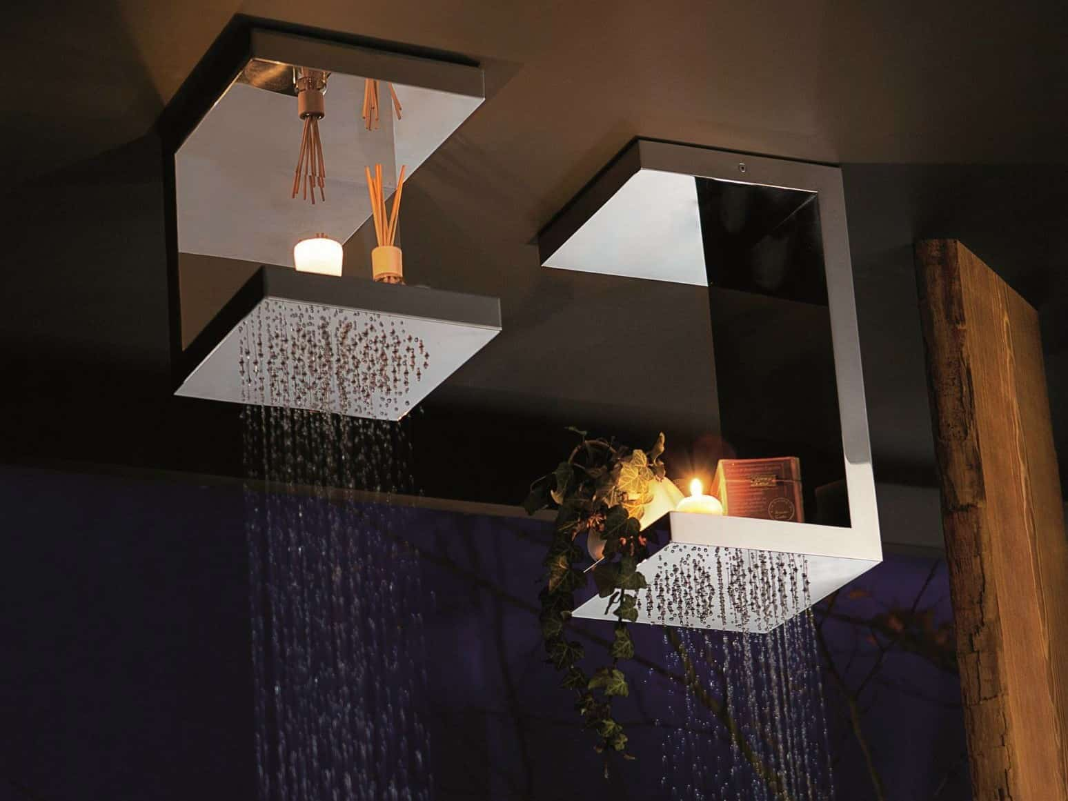 Overhead Shower Head Shelves Bougies From Ritmonio By