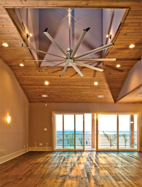 Oversized Ceiling Fan Modern Isis Fans 1 By