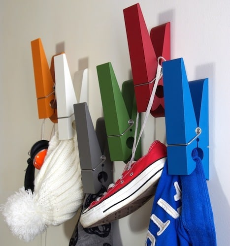 oversized clothes pin hangers by swabdesign 3