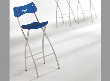 ozzio folding bar stools