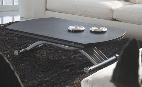 ozzio square table
