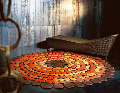 Superior Pacha Mama Carpet Cosmic Sunshine 2 Modern Carpet Designs From Pachamama  Leather Rugs Awesome Ideas