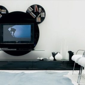 Modern TV Stand by Pacini Cappellini – Mickey Mouse