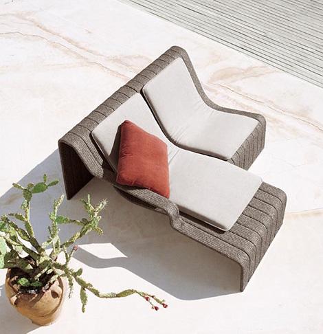 paola lenti chaise lounge frame 4
