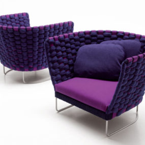 Italian Casual Furniture by Paola Lenti – new Ami and Wabi furniture lines