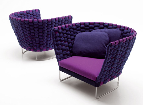 paola lenti furniture ami 2 Italian Casual Furniture by Paola Lenti   new Ami and Wabi furniture lines