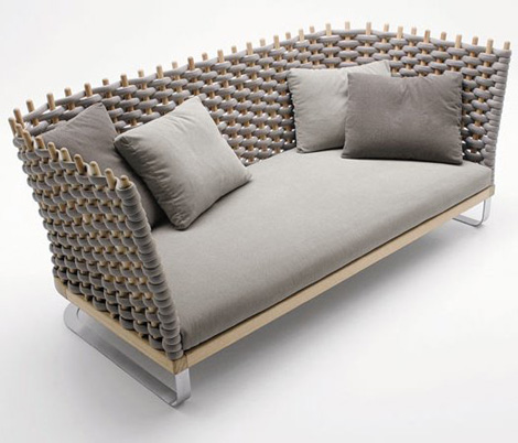 paola lenti furniture wabi 1 Italian Casual Furniture by Paola Lenti   new Ami and Wabi furniture lines