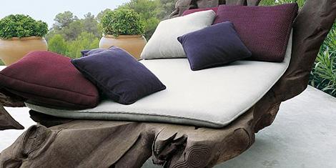 Landscape outoor yarn mat - more details