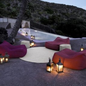 Luxury Outdoor Soft Furnishings from Paola Lenti – Aqua Collection