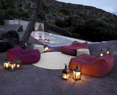 paola lenti soft furnishings float Luxury Outdoor Soft Furnishings from Paola Lenti   Aqua Collection